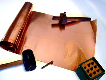 Copper sheet for craft sculpture all sizes fast shipping for Metal sheets for crafting