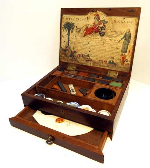William Reeves Watercolour Watercolor Paint box made from ...